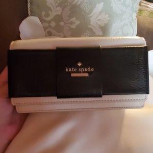 Kate Spade new york rina crossbody Biege/ Black